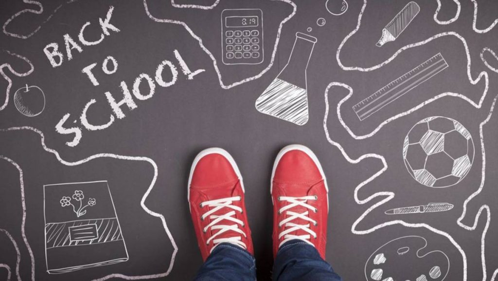 Creative concept with Back to school theme; Shutterstock ID 146536136; PO: back-to-school-guide-today-tease-stock-150818; Client: TODAY Digital Back to school shopping guide from TODAY